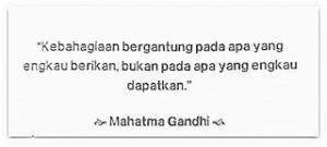 Quote Tentang Kebahagiaan Memberi
